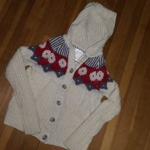 Size Small Old Navy button down hooded sweater